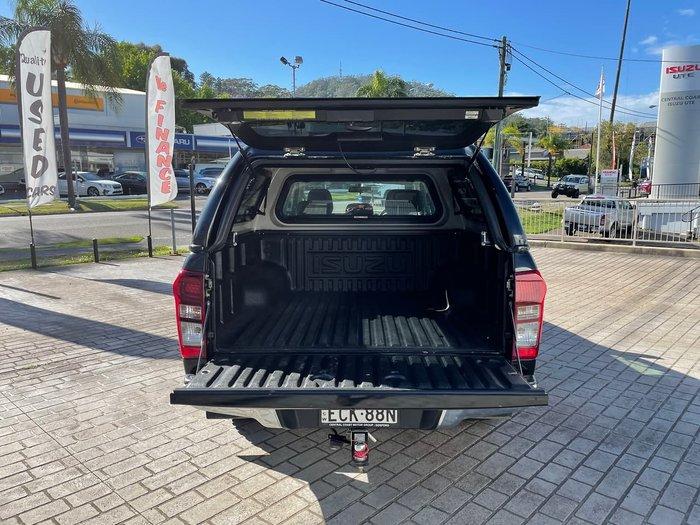 2018 Isuzu D-MAX LS-U MY18 4X4 Dual Range Black