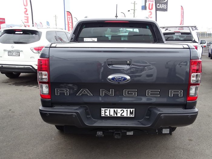 2020 Ford Ranger Wildtrak PX MkIII MY20.25 4X4 Dual Range Grey
