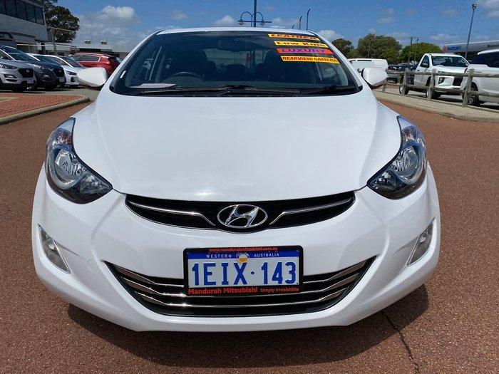 2013 Hyundai Elantra Premium MD2 White