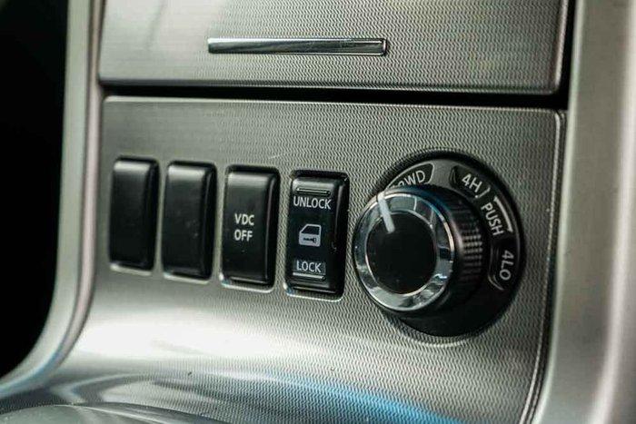 2014 Nissan Navara ST D40 Series 6 White