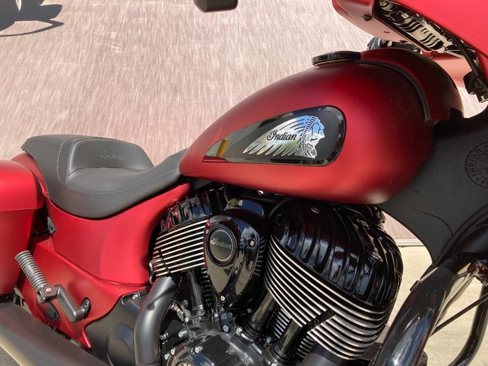 2020 Indian CHIEFTAIN DARK HORSE RUBY Red