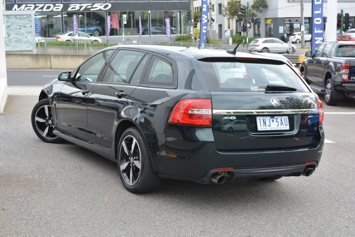 2016 Holden Commodore SV6 Black VF Series II MY16 Green