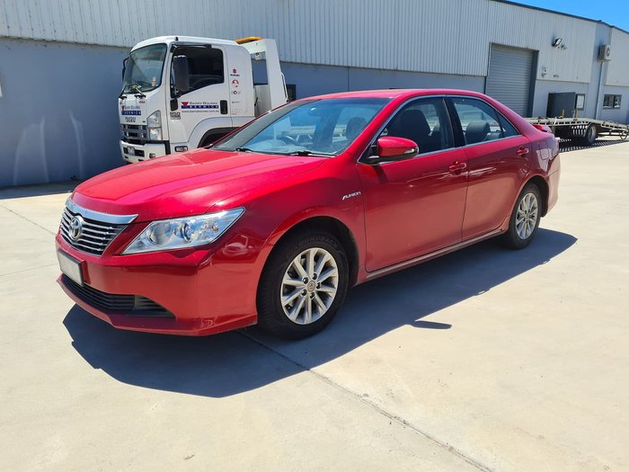2013 Toyota Aurion AT-X GSV50R Red