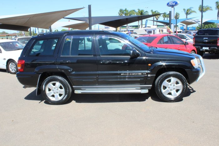 2003 Jeep Grand Cherokee Limited WG MY03 4X4 Dual Range Brilliant Black Crystal