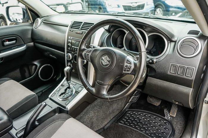 2012 Suzuki Grand Vitara Sport JB MY09 4X4 Dual Range Silver