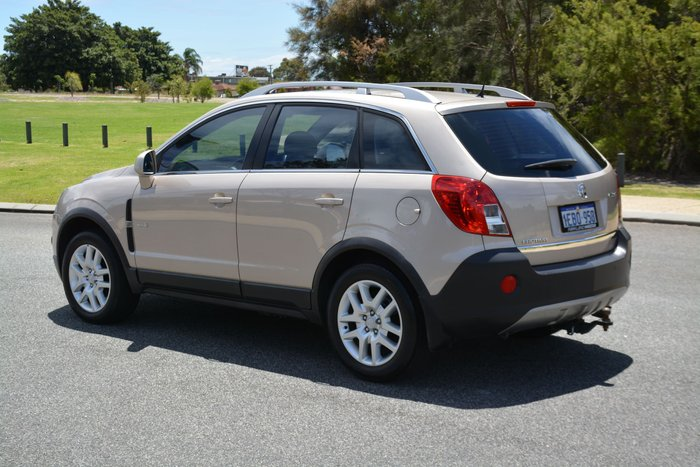 2012 Holden Captiva 5 CG Series II MY12 4X4 On Demand Gold