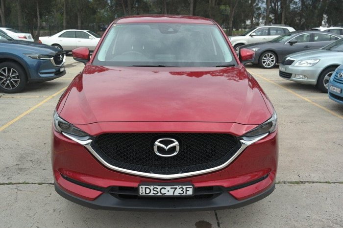 2017 Mazda CX-5 Maxx Sport KE Series 2 4X4 On Demand Red