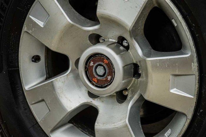 2009 Nissan Patrol ST GU 6 MY08 4X4 Dual Range Silver