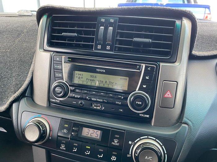 2013 Toyota Landcruiser Prado GX KDJ150R MY14 4X4 Constant White