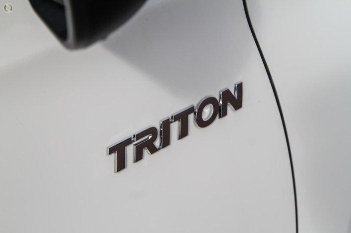 2020 Mitsubishi Triton GLX ADAS MR MY21 4X4 Dual Range White