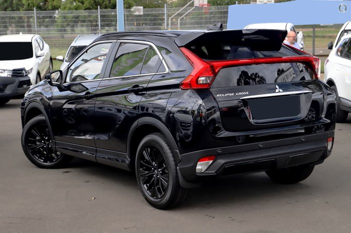 2020 Mitsubishi Eclipse Cross Black Edition YA MY20 Black