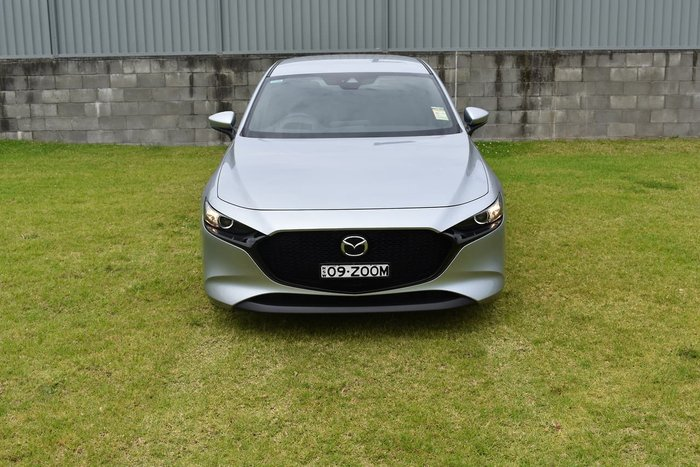 2020 Mazda 3 G25 Evolve BP Series Silver