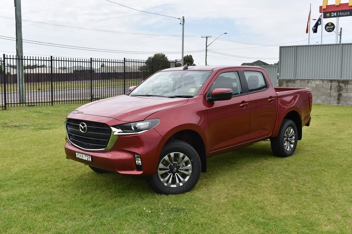 2020 Mazda BT-50 XT TF 4X4 Dual Range Red