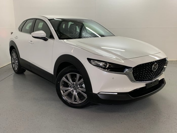 2020 Mazda CX-30 G25 Touring DM Series 4X4 On Demand Snowflake White Pearl