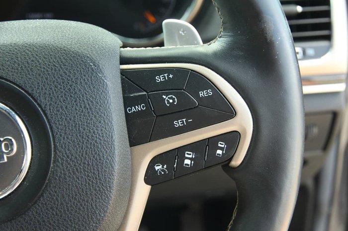 2014 Jeep Grand Cherokee Overland WK MY14 4X4 Dual Range Grey
