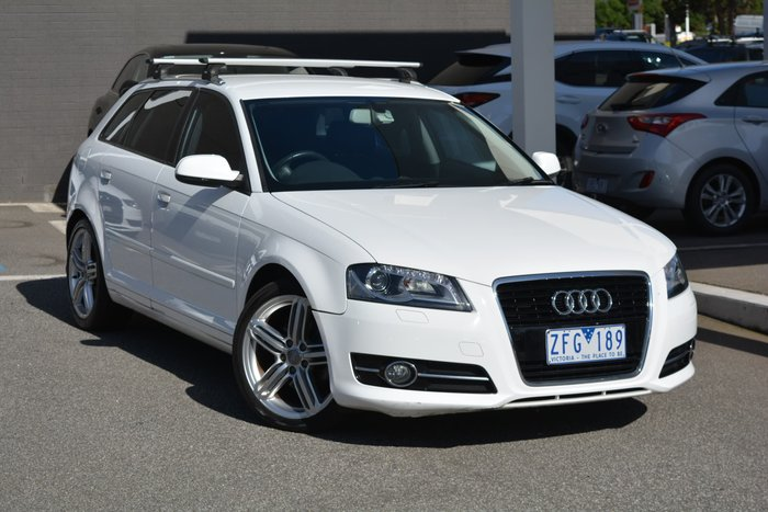 2010 Audi A3 TFSI Limited Edition 8P MY10 White