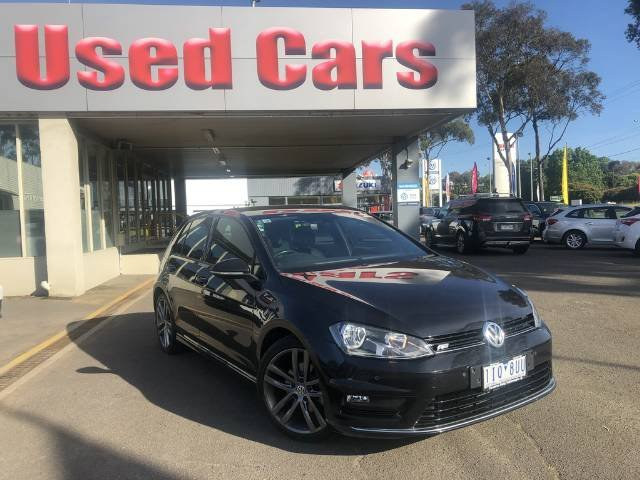 2016 VOLKSWAGEN GOLF 110TSI DSG HIGHLINE VII MY17 DEEP BLACK