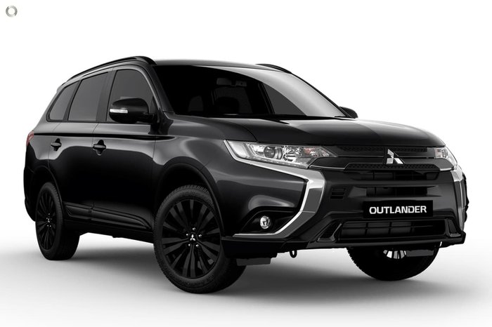 2020 Mitsubishi Outlander Black Edition ZL MY20 Black