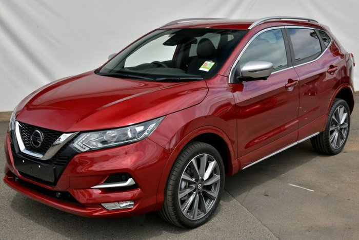 2019 Nissan QASHQAI N-SPORT J11 Series 3 MY20 MAGNETIC RED