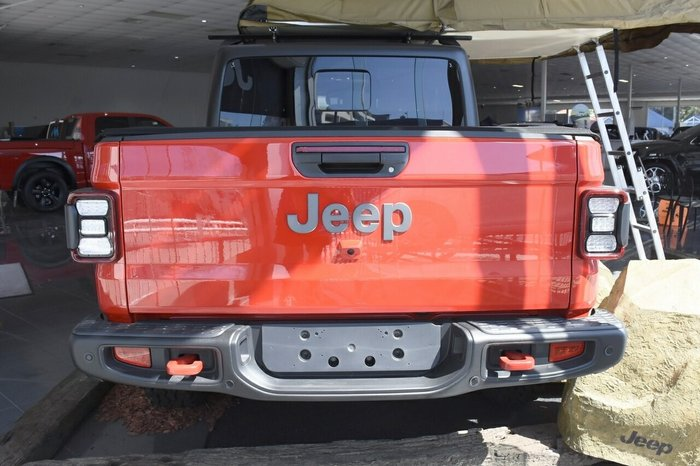 2020 Jeep Gladiator Rubicon JT MY20 Firecracker Red