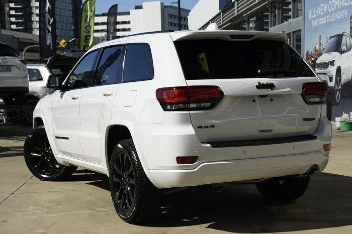 2020 Cjd Grand Cherokee NIGHT EAGLE 4x4 3.6L 8A Wagon 4WD Bright White