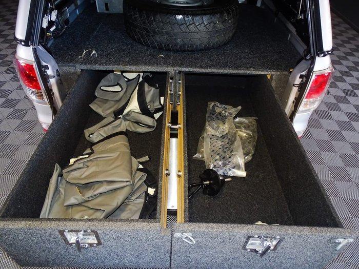2012 Mazda BT-50 XT UP 4X4 Dual Range Silver