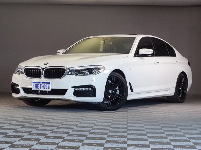 2018 BMW 5 Series 520i M Sport G30 White