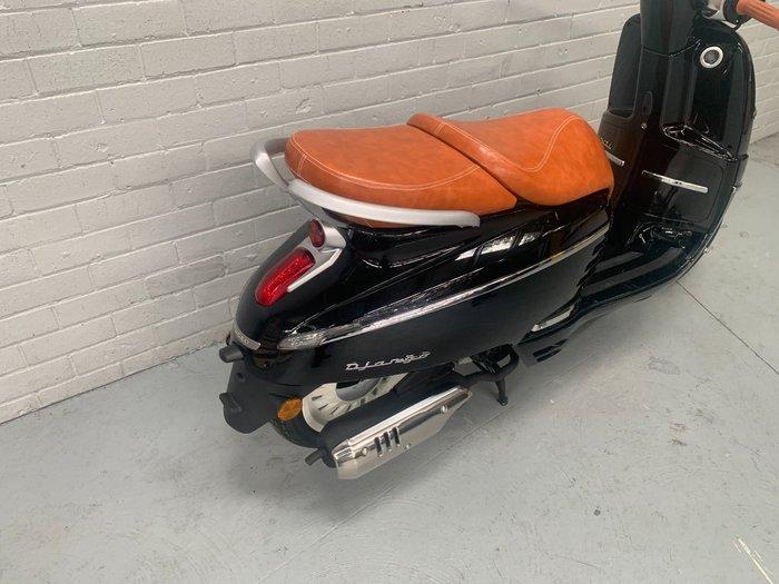 2021 Peugeot 2021 PEUGEOT 150CC DJANGO 150 S Scooter Black