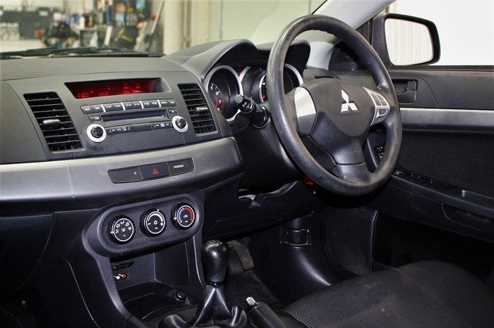 2010 Mitsubishi Lancer ES CJ MY11 Grey