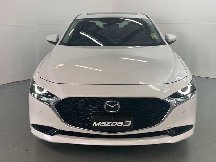 2020 Mazda 3 G25 Astina BP Series White