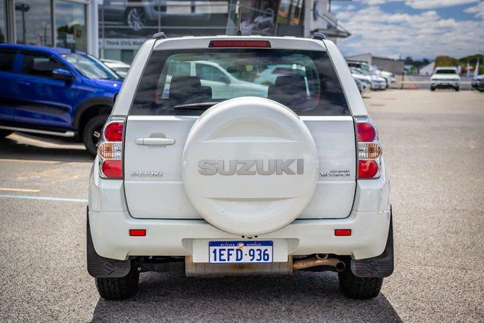 2010 Suzuki Grand Vitara JB MY09 4X4 Constant White