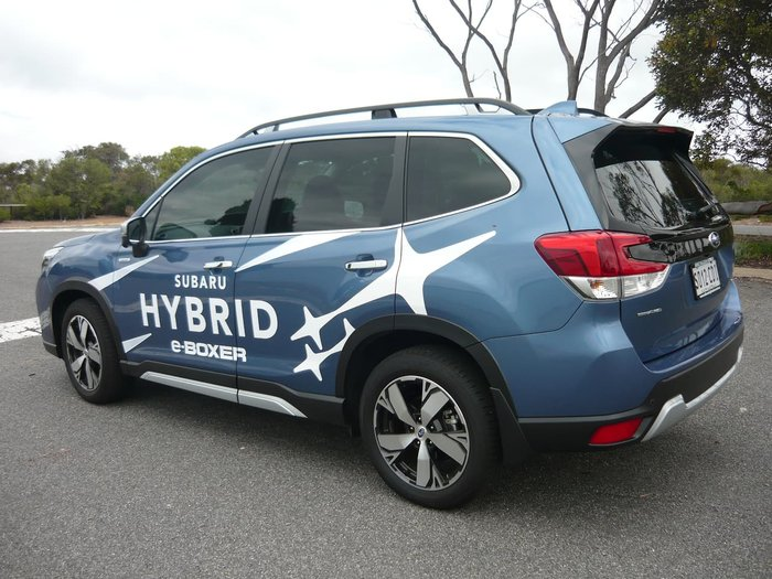 2019 Subaru Forester Hybrid S S5 MY20 Four Wheel Drive Blue