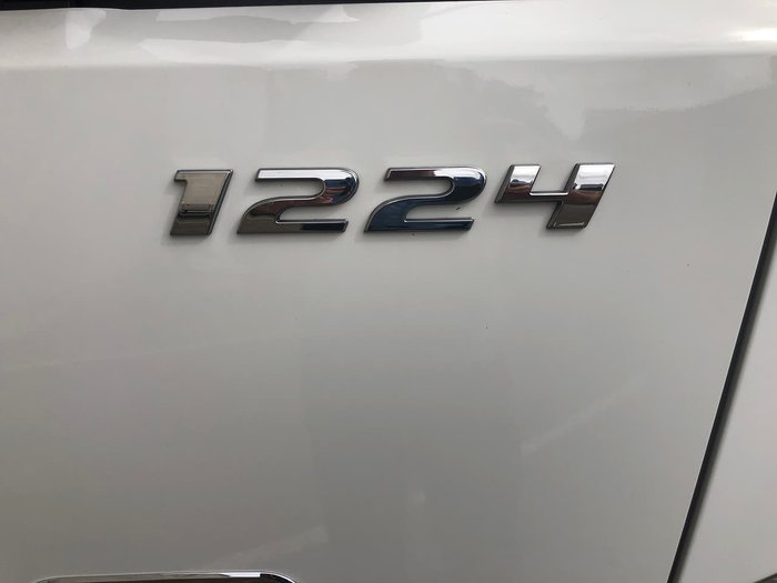 2020 FUSO FIGHTER 1224 LWB - ALLISON AUTO BIN LIFTER IN BUILD White
