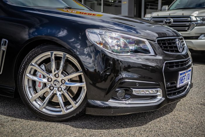 2015 Holden Commodore SS V Redline VF MY15 Black