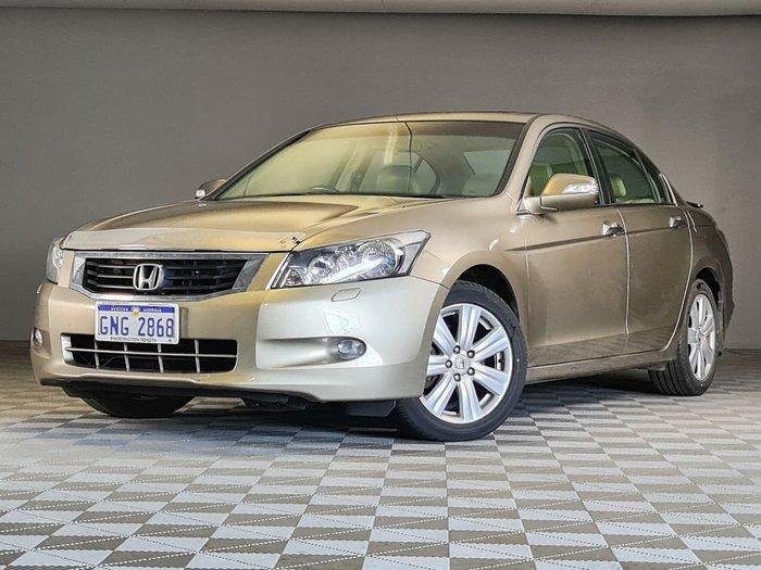 2009 Honda Accord V6 Luxury 8th Gen Gold