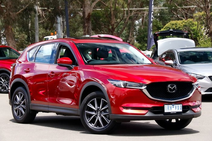 2020 Mazda CX-5 GT KF Series 4X4 On Demand Red