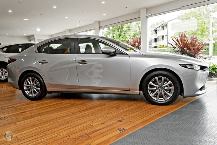 2020 Mazda 3 G20 Pure BP Series Sonic Silver
