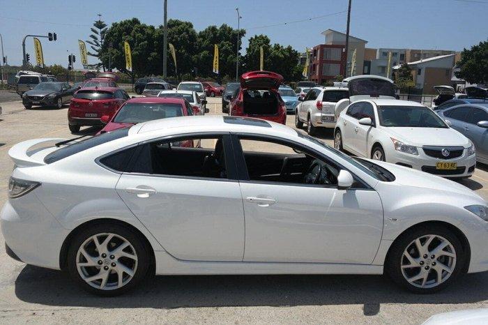 2011 Mazda 6 Luxury GH Series 2 MY10 White