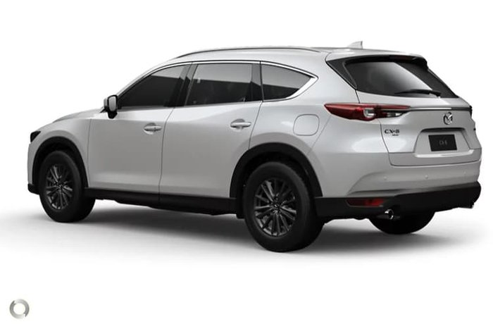 2020 Mazda CX-8 Touring KG Series White