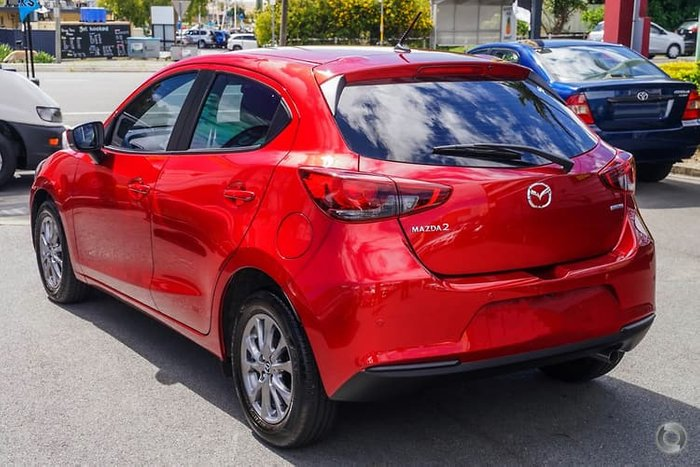 2020 Mazda 2 G15 Pure DJ Series Red
