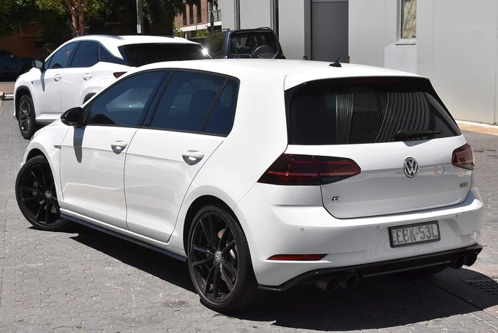 2018 Volkswagen Golf R Special Edition 7.5 MY19 Four Wheel Drive White