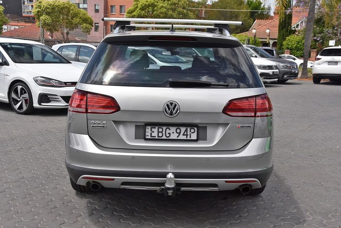 2019 Volkswagen Golf Alltrack 132TSI 7.5 MY19.5 Four Wheel Drive Silver