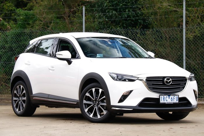 2019 Mazda CX-3 sTouring DK 4X4 On Demand White
