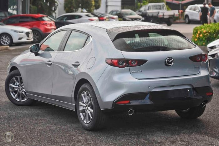 2020 Mazda 3 G20 Pure BP Series Silver