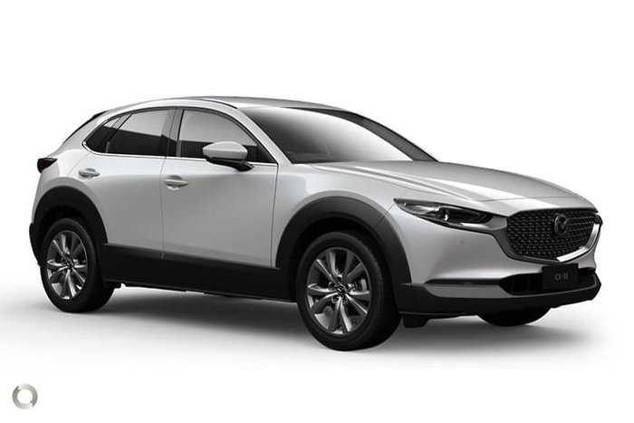 2020 Mazda CX-30 G25 Touring DM Series 4X4 On Demand White