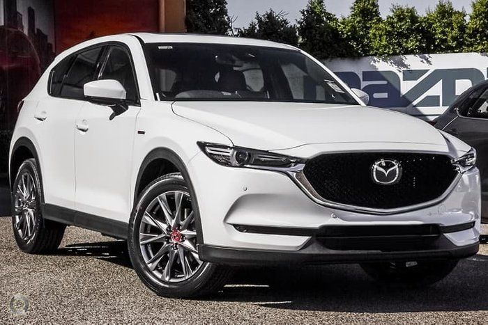 2020 Mazda CX-5 100th Anniversary KF Series 4X4 On Demand Snowflake White Pearl