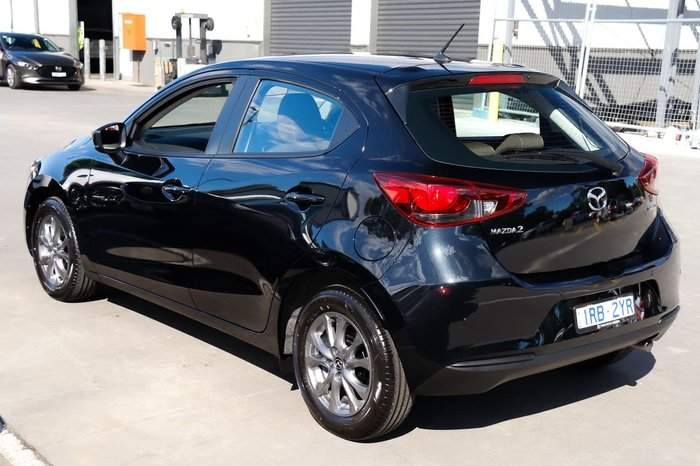 2020 Mazda 2 G15 Pure DJ Series Black