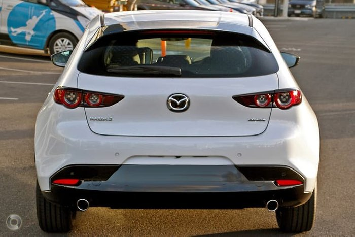 2020 Mazda 3 G20 Pure BP Series White