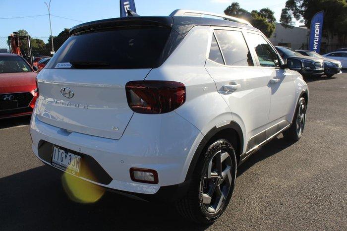 2020 Hyundai Venue Elite QX.2 MY20 White