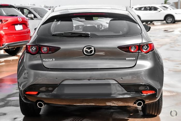 2020 Mazda 3 G20 Pure BP Series Machine Grey